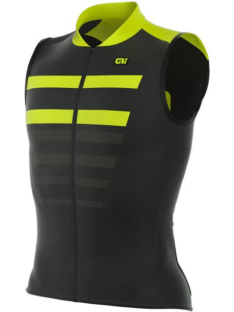 Alé Cycling R-EV1 Piuma Bike Jersey Sleeveless Men yellow/black